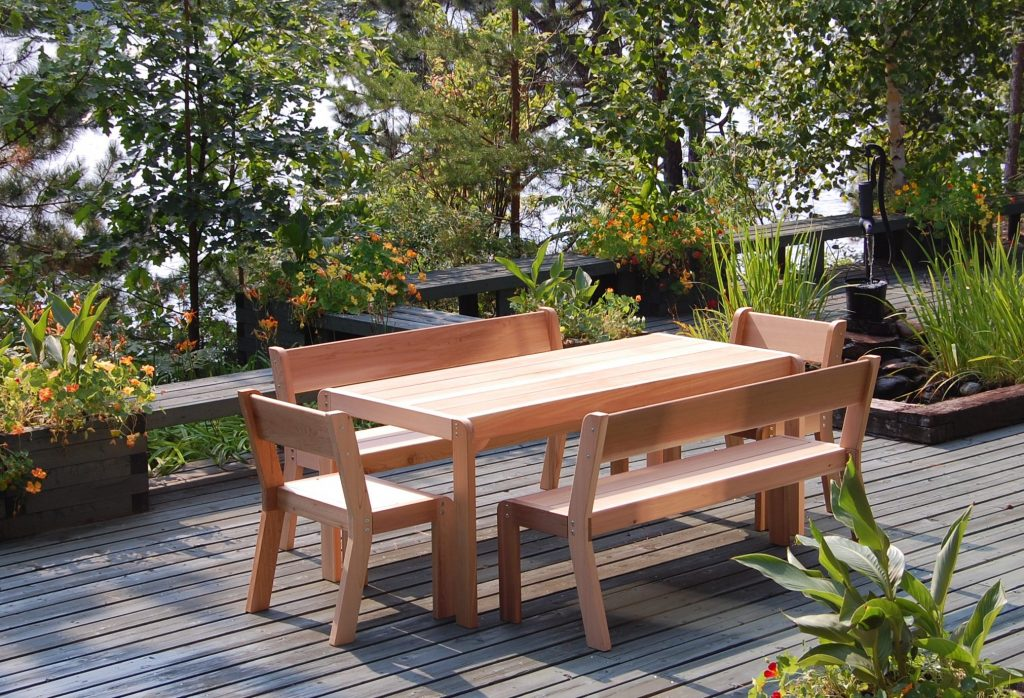 Picnic set (Table+4 Benches)